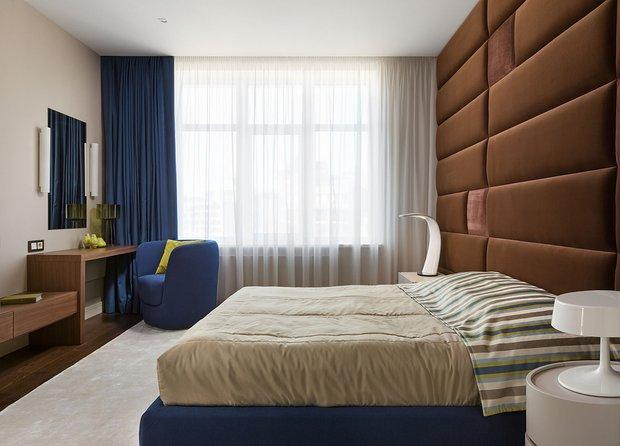 Фотография: Спальня в стиле Современный, Минимализм, Классический, Квартира, Проект недели – фото на INMYROOM