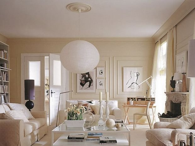 Фотография:  в стиле , Гостиная, Декор интерьера, Квартира, Дом, Декор, Бежевый – фото на INMYROOM