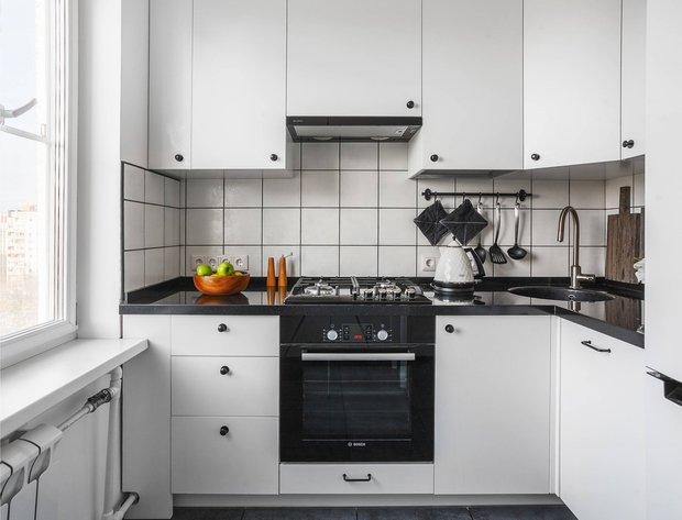 Фотография: Кухня и столовая в стиле Минимализм, Ремонт, Ремонт на практике, Гид, ремонт своими руками – фото на INMYROOM