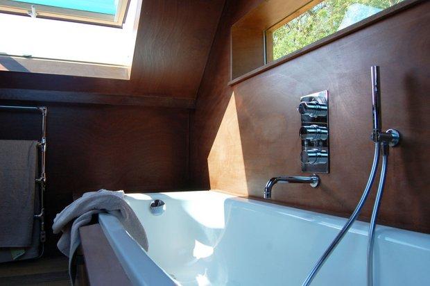 Фотография: Ванная в стиле Современный, Дом, Дома и квартиры, Городские места, Переделка – фото на INMYROOM