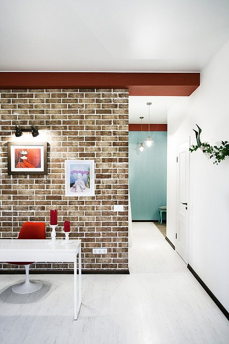 Фотография:  в стиле , Эклектика, Квартира, Проект недели, Москва, Марина Сирко – фото на INMYROOM