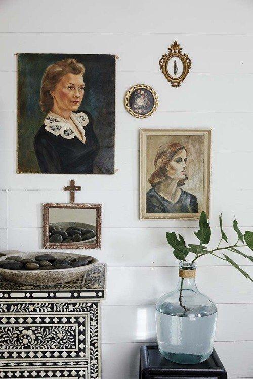 Фотография: Ванная в стиле Эклектика, Мебель и свет, Белый, Переделка, Дача – фото на INMYROOM