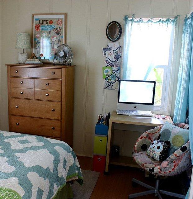 Фотография: Спальня в стиле , Малогабаритная квартира, Квартира, Дома и квартиры, IKEA – фото на INMYROOM