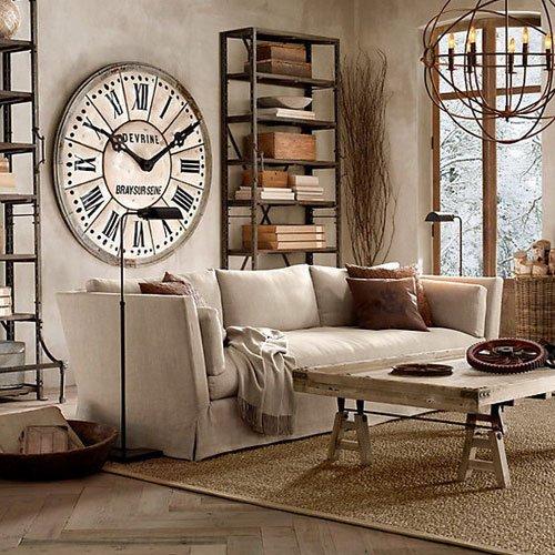 Фотография: Гостиная в стиле Классический, Современный, Декор интерьера, Часы, Декор дома – фото на INMYROOM