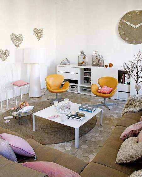 Фотография: Гостиная в стиле Современный, Декор интерьера, Квартира, Дома и квартиры, Барселона, Модерн – фото на INMYROOM