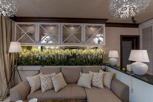 Фотография: Гостиная в стиле Прованс и Кантри, Классический, Современный, Декор интерьера, Интерьер комнат – фото на INMYROOM