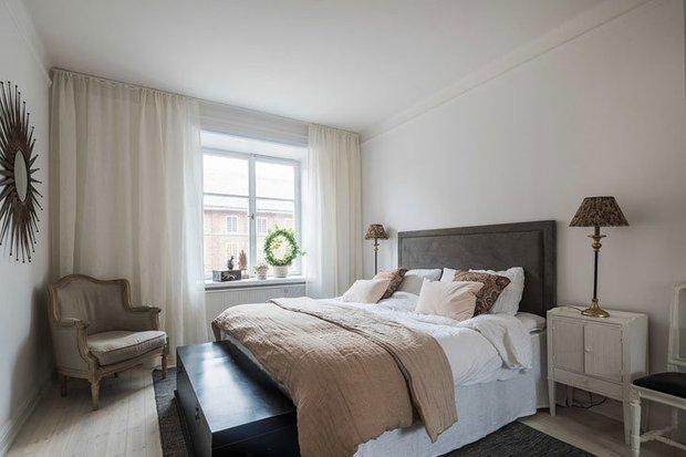 Фотография: Спальня в стиле Скандинавский, Декор интерьера, Квартира, Советы, Дорого и бюджетно – фото на INMYROOM