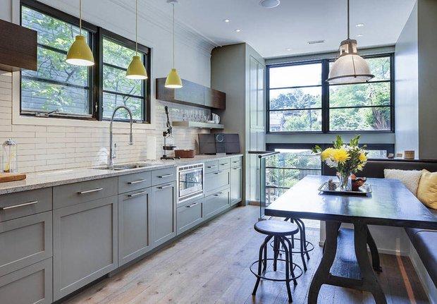 Фотография:  в стиле , Канада, интерьер кухни, кухня, Торонто – фото на INMYROOM