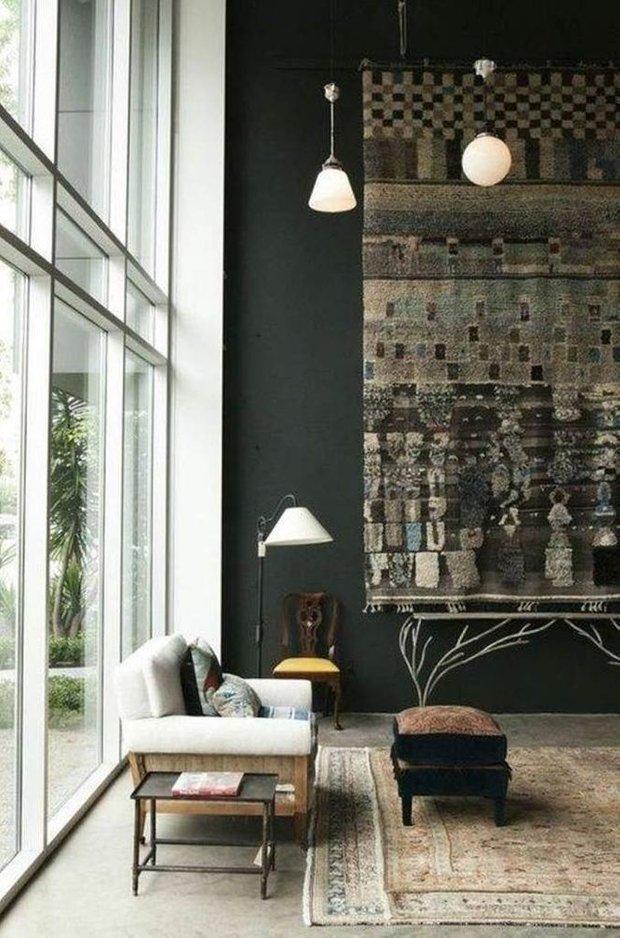 Фотография: Гостиная в стиле Восточный, Декор интерьера, ковер в интерьере – фото на INMYROOM