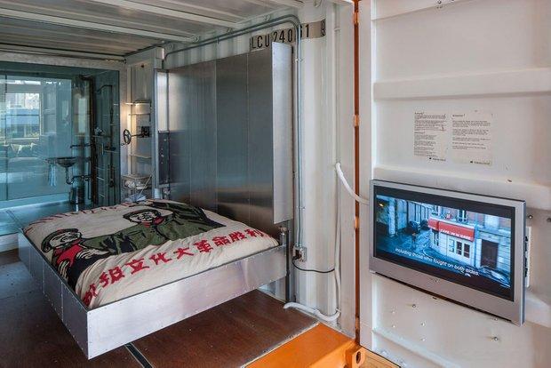 Фотография: Спальня в стиле Современный, Лофт, Квартира, Дома и квартиры, Проект недели, Футуризм, Потолок – фото на INMYROOM