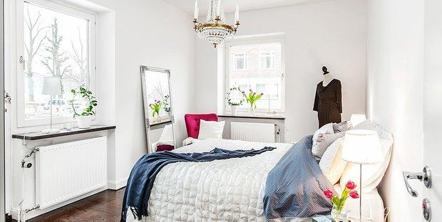 Фотография: Спальня в стиле Классический, Декор интерьера, Дизайн интерьера, Цвет в интерьере, Советы, Белый – фото на INMYROOM