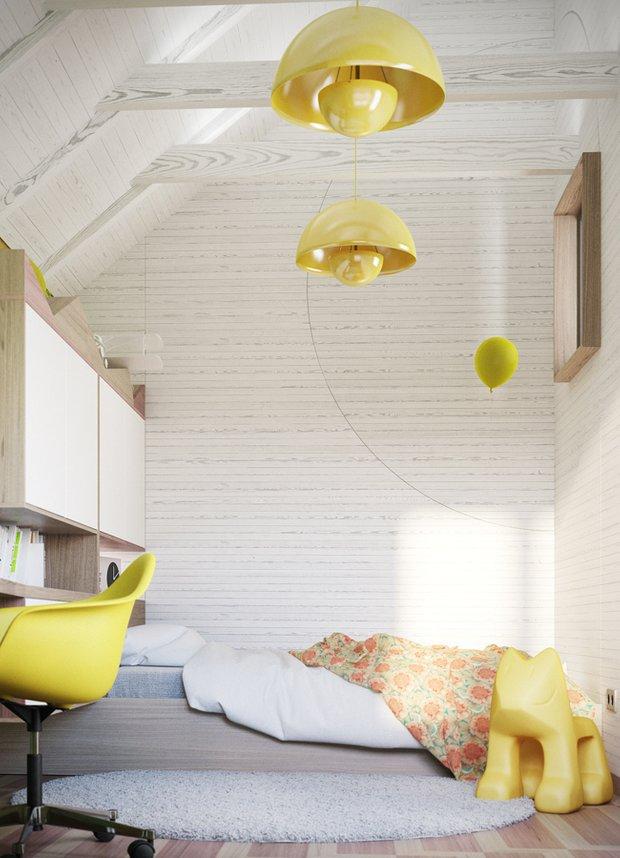 Фотография: Детская в стиле Современный, Декор интерьера, Дом, Дома и квартиры, Проект недели – фото на INMYROOM