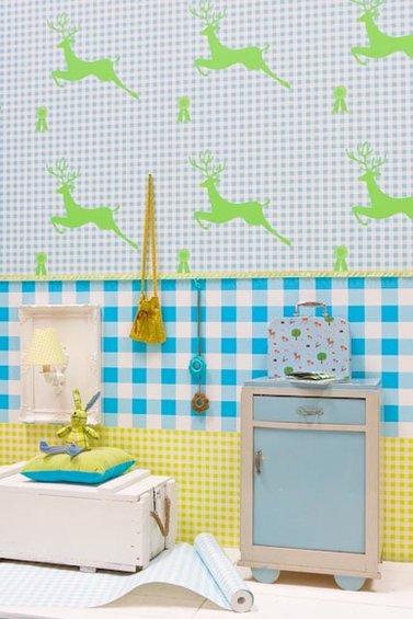 Фотография: Детская в стиле Прованс и Кантри, Декор интерьера, Декор дома, Обои – фото на INMYROOM