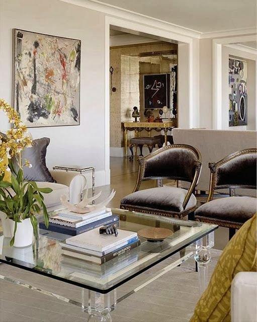 Фотография: Гостиная в стиле , Интерьер комнат – фото на INMYROOM