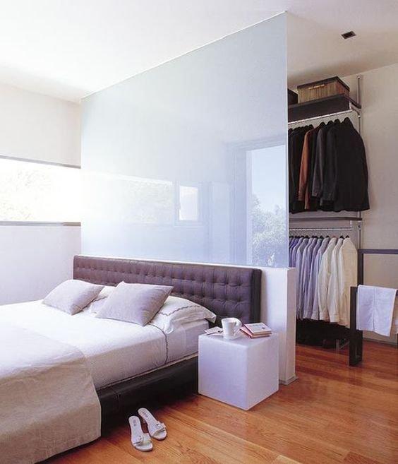 Фотография: Спальня в стиле Современный, Гардеробная, Советы, Анна Русскина – фото на INMYROOM