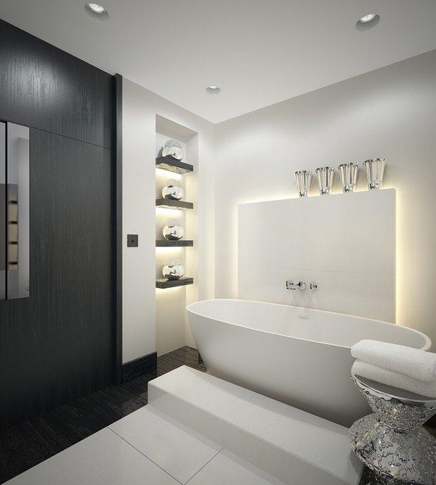 Фотография: Ванная в стиле Хай-тек, Стиль жизни, Советы – фото на INMYROOM