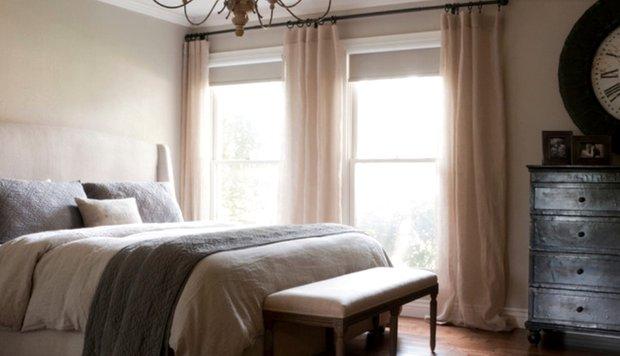 Фотография: Спальня в стиле Прованс и Кантри, DIY, Дом, Цвет в интерьере, Дома и квартиры, Белый – фото на INMYROOM