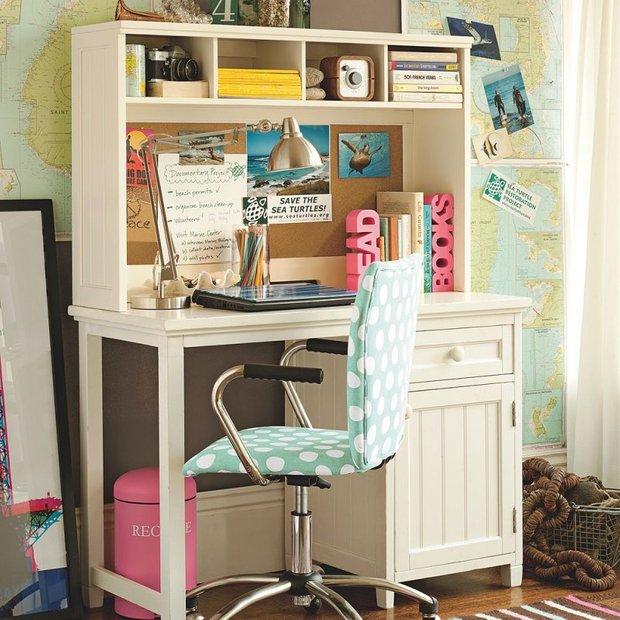 Фотография: Офис в стиле Прованс и Кантри, Современный, Детская, Интерьер комнат – фото на INMYROOM