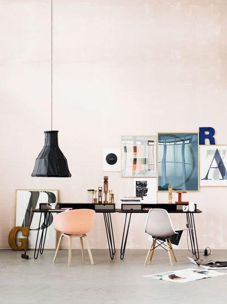 Фотография: Мебель и свет в стиле Лофт, Современный, Скандинавский, Декор интерьера, Офисное пространство, Квартира, Офис, Декор, Советы – фото на INMYROOM