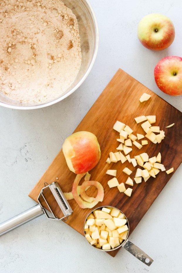 Фотография:  в стиле , Сладенького, Десерт, Выпекание, Кулинарные рецепты, Тесто, 1 час, Американская кухня, Яблоко, Просто – фото на INMYROOM