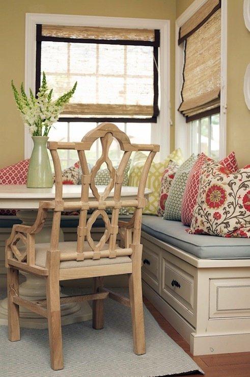 Фотография: Кухня и столовая в стиле Прованс и Кантри, Современный, Текстиль, Стиль жизни, Советы, Цветы – фото на INMYROOM
