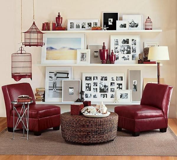 Фотография: Гостиная в стиле Восточный, Эклектика, Декор интерьера, Дизайн интерьера, Цвет в интерьере – фото на INMYROOM