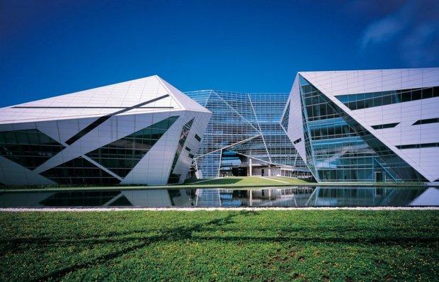Фотография: Архитектура в стиле Современный, Офисное пространство, Офис, Дома и квартиры – фото на INMYROOM