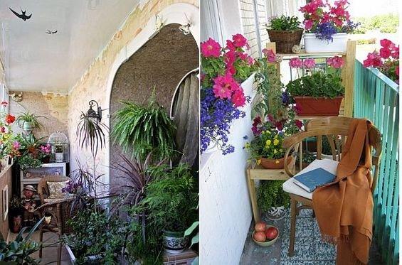 Фотография:  в стиле , Балкон, Декор интерьера, Квартира, Интерьер комнат – фото на INMYROOM