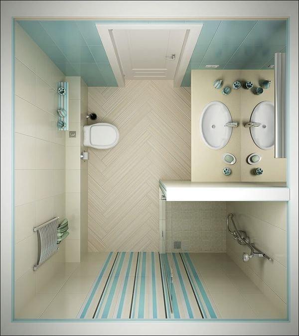 Фотография:  в стиле , Ванная, Советы, керамическая плитка, Beindesign, сантехника для ванной комнаты, как обустроить санузел, интерьер санузла, санузел с душевой кабиной, санузел в стиле минимализм, интерьер ванной, дизайн ванной комнаты, хранение в ванной комнате, как бюджетно обновить ванную, освещение ванной, обустройство маленького санузла, планировка ванной – фото на INMYROOM