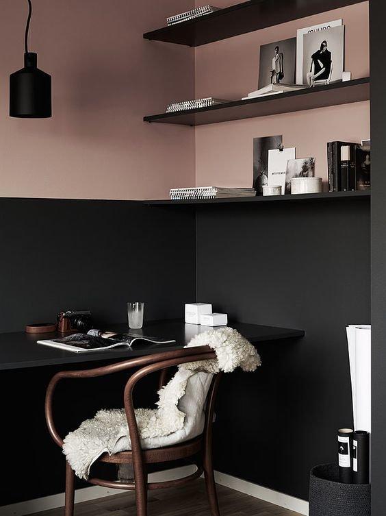 Фотография: Кабинет в стиле Скандинавский, Декор интерьера, Декор, Розовый – фото на INMYROOM