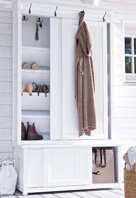 Фотография: Прихожая в стиле Современный, Интерьер комнат, Системы хранения – фото на INMYROOM