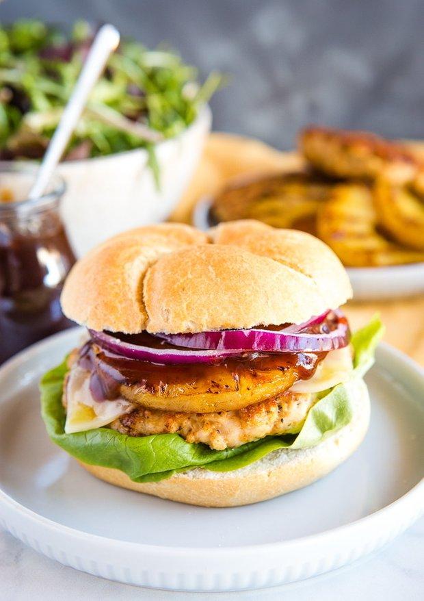 Фотография:  в стиле , Основное блюдо, Жарить, Кулинарные рецепты, 30 минут, Американская кухня, Просто, Индейка, Ананас – фото на INMYROOM