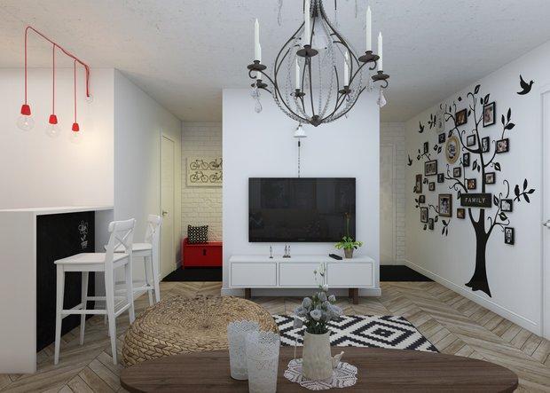 Фотография: Гостиная в стиле Скандинавский, Современный, Квартира, Дома и квартиры, IKEA – фото на INMYROOM