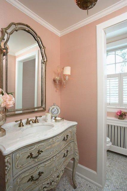 Фотография: Ванная в стиле Прованс и Кантри, Декор интерьера, Декор, Розовый – фото на INMYROOM