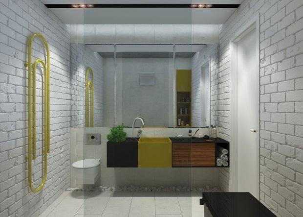 Фотография: Ванная в стиле Скандинавский, Квартира, Дома и квартиры, IKEA – фото на INMYROOM