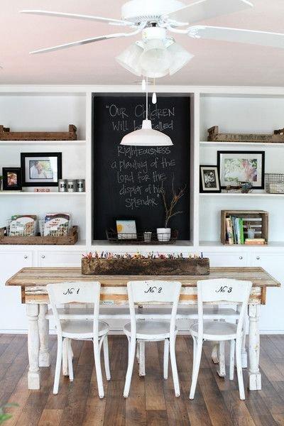 Фотография: Кухня и столовая в стиле Скандинавский, Декор интерьера, DIY, Декор, грифельная краска, графитовая краска, краска для школьных досок в интерьере, грифельная краска с эффектом школьной доски – фото на INMYROOM