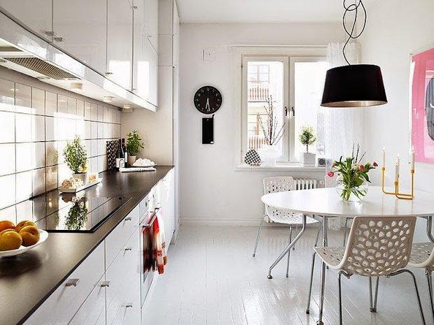 Фотография: Кухня и столовая в стиле Скандинавский, Современный, Дизайн интерьера, Советы – фото на INMYROOM