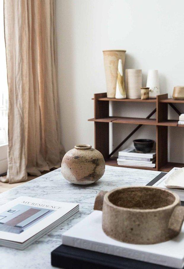 Фотография:  в стиле , Бежевый, Серый, Дом и дача – фото на INMYROOM