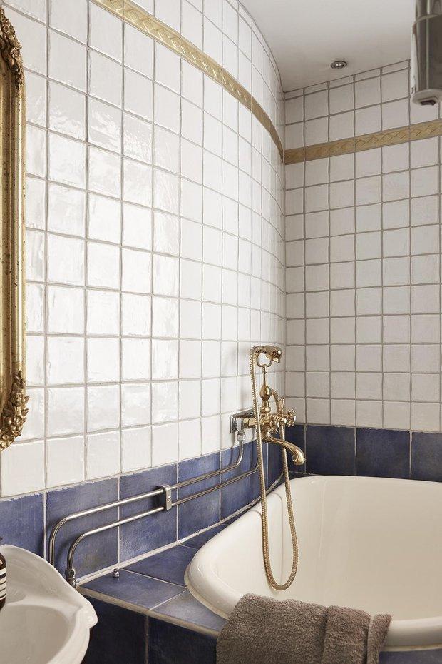 Фотография: Ванная в стиле Минимализм, Скандинавский, Декор интерьера, Малогабаритная квартира, Квартира, Студия, Швеция, Стокгольм – фото на INMYROOM
