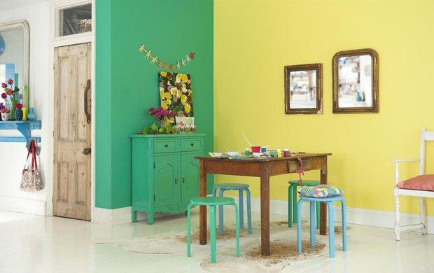 Фотография: Кухня и столовая в стиле Прованс и Кантри, Декор интерьера, Дизайн интерьера, Цвет в интерьере, Dulux – фото на InMyRoom.ru