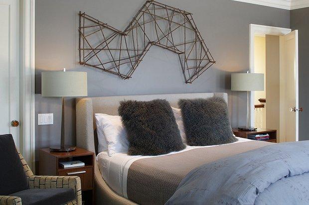 Фотография: Спальня в стиле Скандинавский, Интерьер комнат, Цвет в интерьере, Советы – фото на INMYROOM