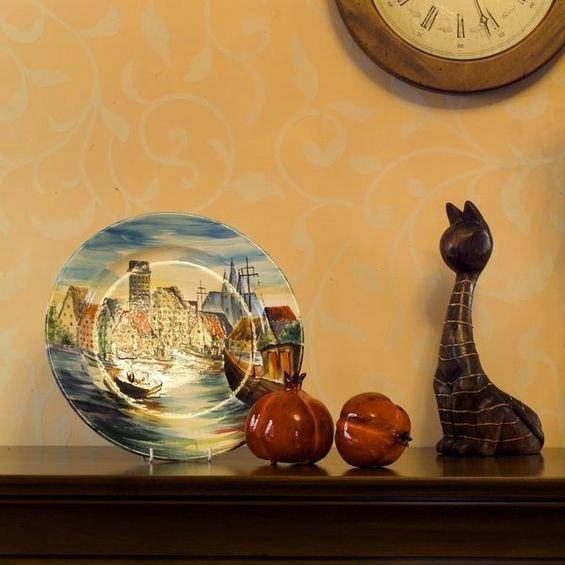 Фотография:  в стиле , Декор интерьера, Декор дома, Обои, Марат Ка, Роспись – фото на InMyRoom.ru