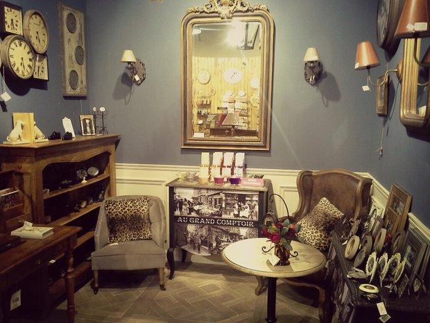 Фотография: Офис в стиле , Декор интерьера, Comptoir de Famille, Country Corner, Мебель и свет, Стол, Интерьерная Лавка, Журнальный столик – фото на INMYROOM