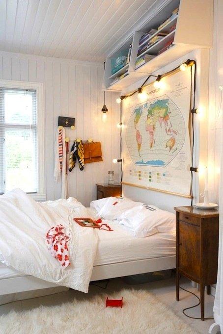 Фотография: Детская в стиле Скандинавский, Декор интерьера, Мебель и свет – фото на INMYROOM