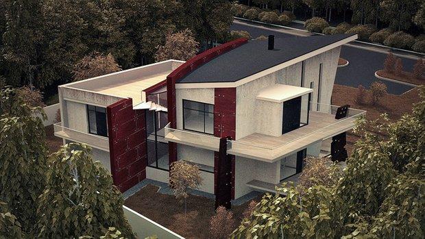 Фотография: Архитектура в стиле , Дом, Дома и квартиры, Архитектурные объекты – фото на INMYROOM