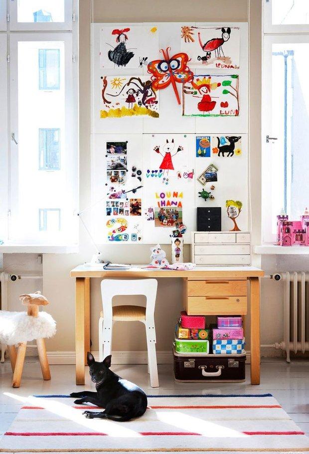 Фотография: Детская в стиле Скандинавский, Современный, Кабинет, Декор интерьера, Декор дома – фото на InMyRoom.ru