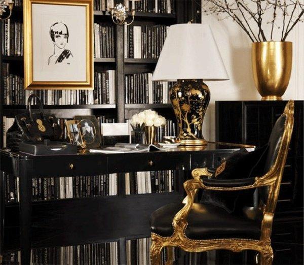 Фотография: Офис в стиле Классический, Декор интерьера, Дизайн интерьера, Цвет в интерьере, Желтый – фото на INMYROOM