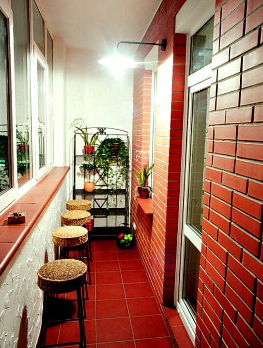 Фотография: Балкон, Терраса в стиле Лофт, Интерьер комнат – фото на INMYROOM