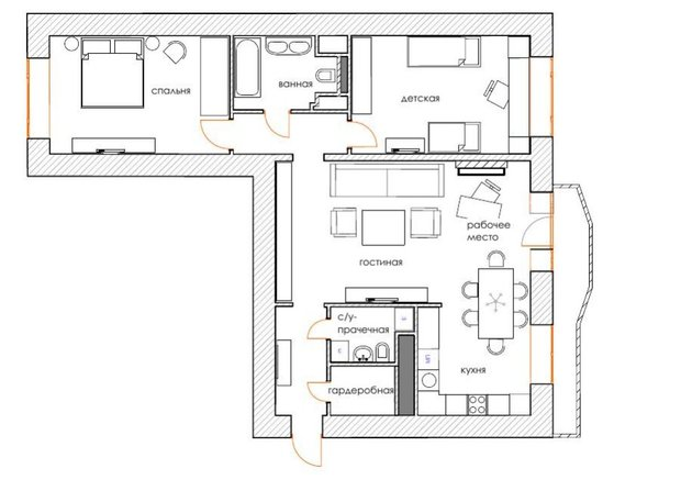 Фотография: Планировки в стиле , Декор интерьера, Квартира, Дома и квартиры, IKEA – фото на INMYROOM