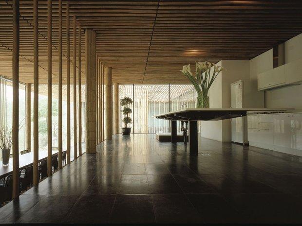 Фотография: Кухня и столовая в стиле Современный, Эко, Гид, Кенго Кума – фото на INMYROOM